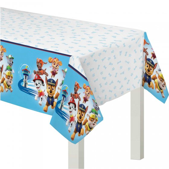 Paw Patrol Adventures Plastic Tablecloth