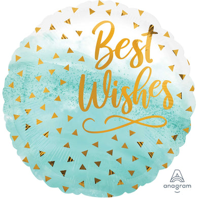18inch Foil Balloon -  Best Wishes