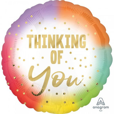 18inch Foil Balloon -  Thinking of You