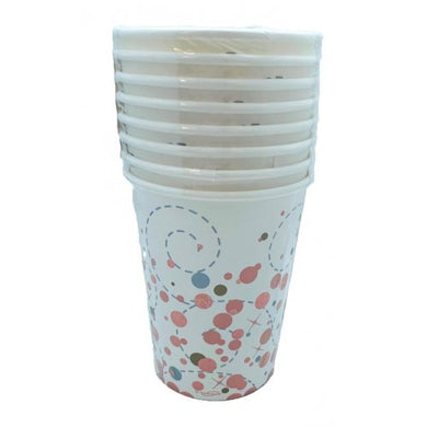 Cups Sparkling Fizz Rose Gold 8pk
