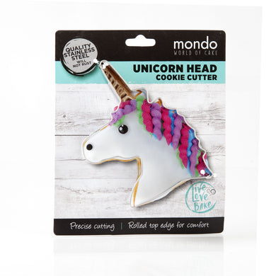 Mondo Unicorn Head Cookie Cutter