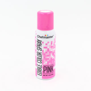 CHEFMASTER EDIBLE FOOD SPRAY PINK 42GM