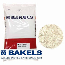 Load image into Gallery viewer, Bakels White Mud Cake Mix 1kg/4kg/15kg