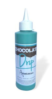 Chocolate Drip Aquamarine