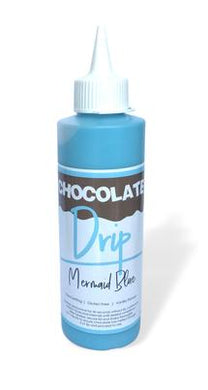 Chocolate Drip Mermaid Blue