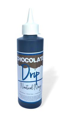 Chocolate Drip Nautical Navy