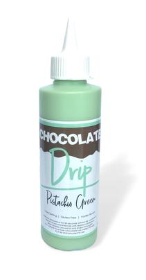 Chocolate Drip Pistachio Green