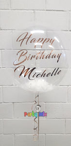 Personalised 61cm Bubble Balloon