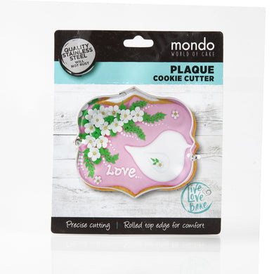 Mondo Rectangle Plaque Cookie Cutter
