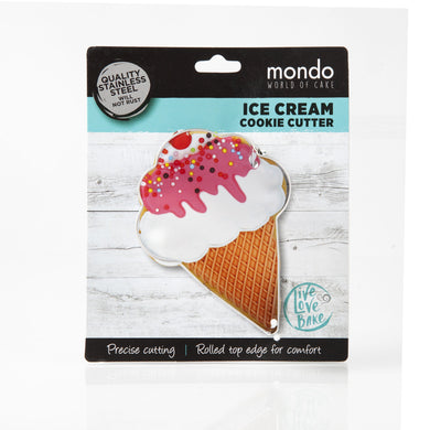 Mondo Ice Cream Cookie Cutter