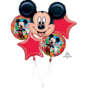 Mickey Mouse Foil Balloon Bouquet