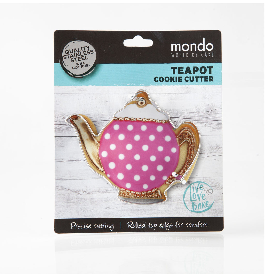 Mondo Teapot Cookie Cutter