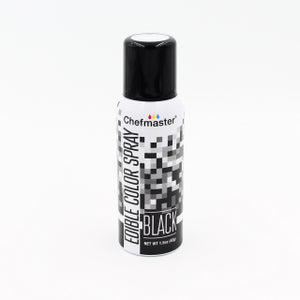 CHEFMASTER EDIBLE FOOD SPRAY BLACK 42GM