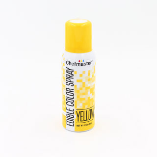 CHEFMASTER EDIBLE FOOD SPRAY YELLOW 42GM