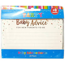 Baby Advice Cards