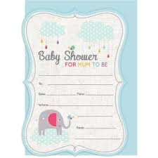 Baby Shower Invites 16pk