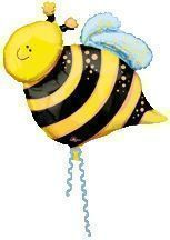 Bee Supershape Foil Balloon