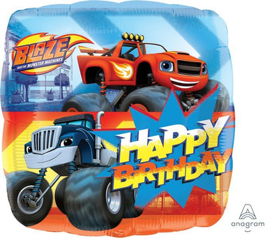 18inch Foil Balloon - Blaze Happy Birthday