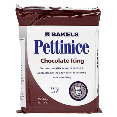 Bakels Pettinice Fondant Chocolate 750g