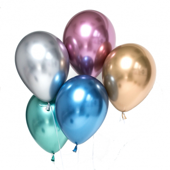 Reflex/Chrome Latex Balloons