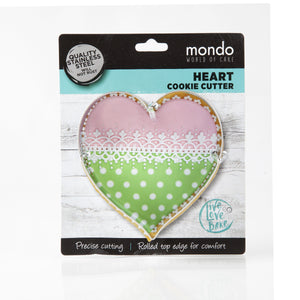 Mondo Heart Cookie Cutter