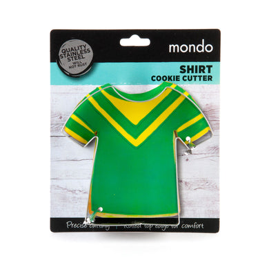 Mondo Shirt Cookie Cutter