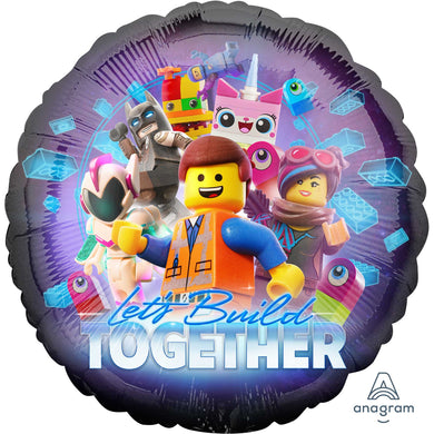 18inch Foil Balloon - Lego Movie 2