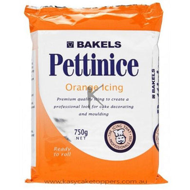 Bakels Pettinice Fondant Orange 750g