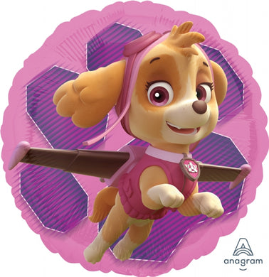 18inch Foil Balloon - Paw Patrol Girls