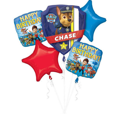 Paw Patrol Boy Foil Balloon Bouquet