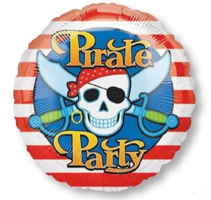 18inch Foil Balloon - Pirate Party
