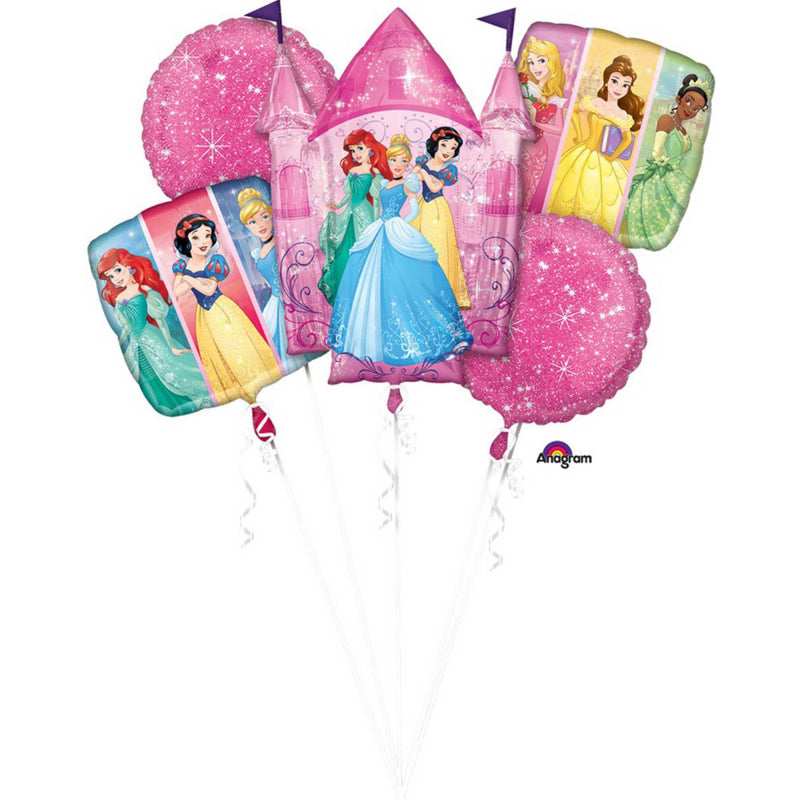 Disney Princesses Foil Balloon Bouquet