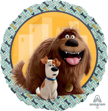 18inch Foil Balloon - The Secret Life of Pets