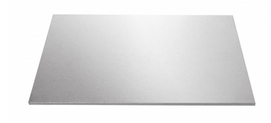 Rectangle Cake Board Black/White/Silver