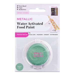 Water Activated Edible Paint: Green Tea