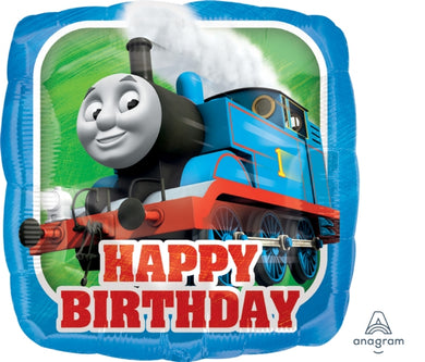 18inch Foil Balloon - Thomas The Tank Engline Happy Birthday