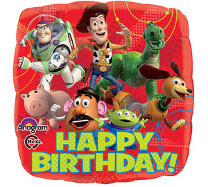 18inch Foil Balloon - Toy Story Happy Birthday