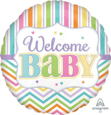 Welcome Baby Foil Balloon 18 inch
