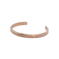 Streamline Cuff Bracelet X Rose Gold