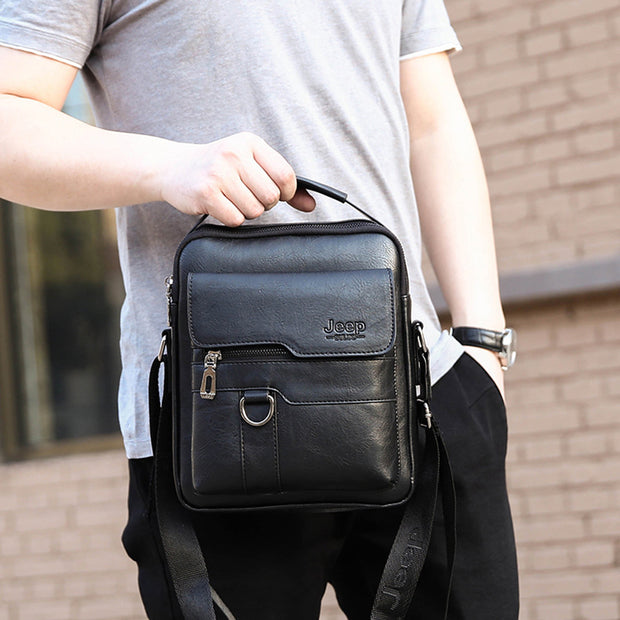 Men's jeep business messenger bag