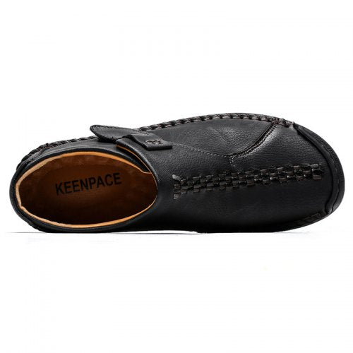 Herren Slip-On Freizeitschuhe Fashion Stitching Design