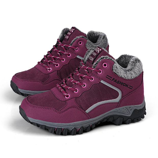 Damen Winter warme Outdoor Wanderschuhe