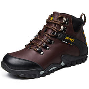 Herren Winter Outdoor Wandern Lederstiefel