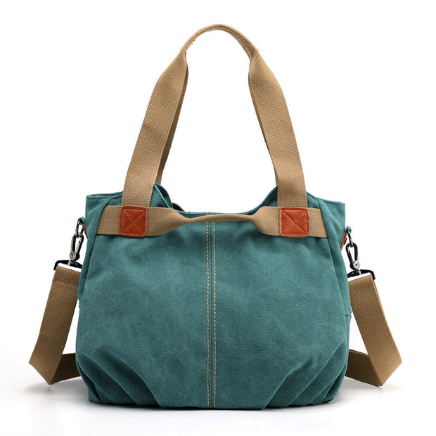 138860 Women canvas bag shoulder bag Messenger bag