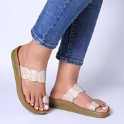 Frauen Casual Clip Toe Plateausandalen