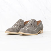 Damen Low Cut-runde Zehe-Splicing-Beleg auf Flach Loafers