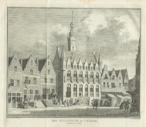 VEERE Stadhuis - JC Philips - 1747