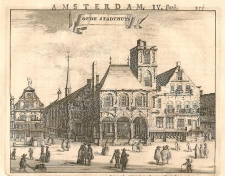 AMSTERDAM Oude Stadhuis - C Commelin - 1693