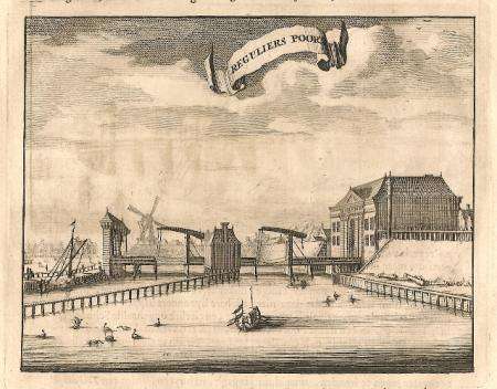 AMSTERDAM Regulierspoort - C Commelin - 1693