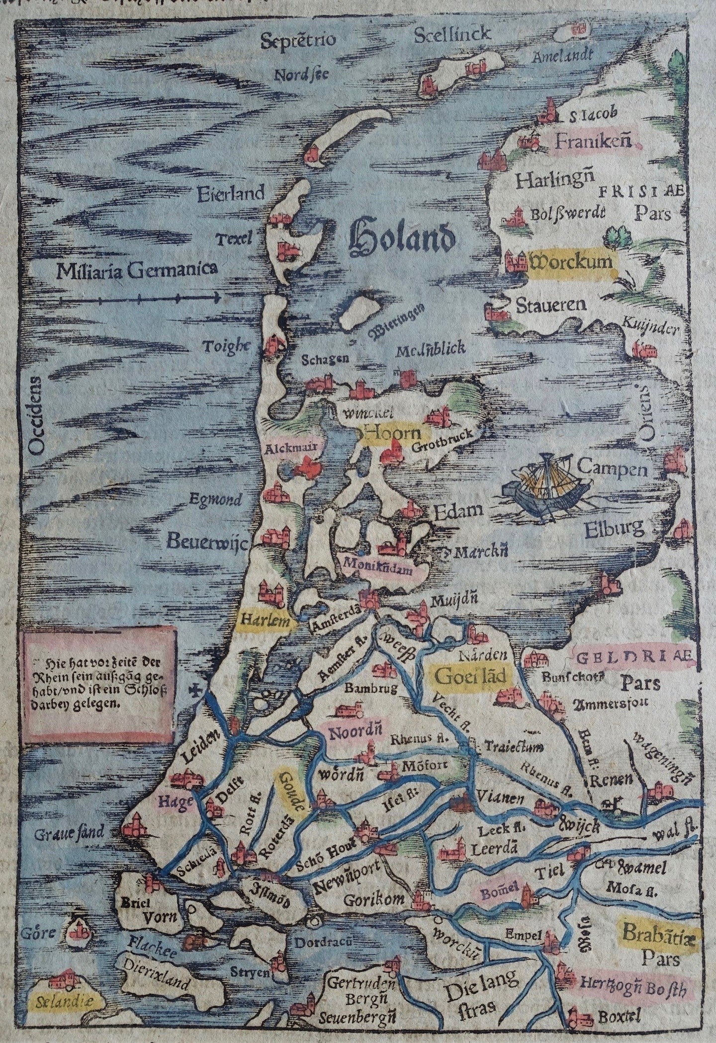 Holland - S Münster - ca 1578